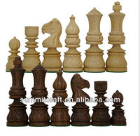 Wooden chess sets india
