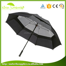Straight auto open change color magic golf umbrella, umbrella with magic print low MOQ