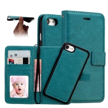 Mobile Phone Accessories, 2017 PU Leather Cell Phone Case For Iphone 7