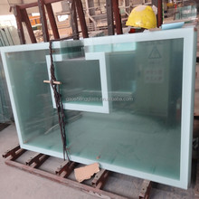 CE approved 8mm tempered glass basketball backboard
