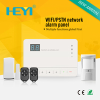 IOS/Android APP Internet WiFi PSTN Home Burglar Alarm System Security