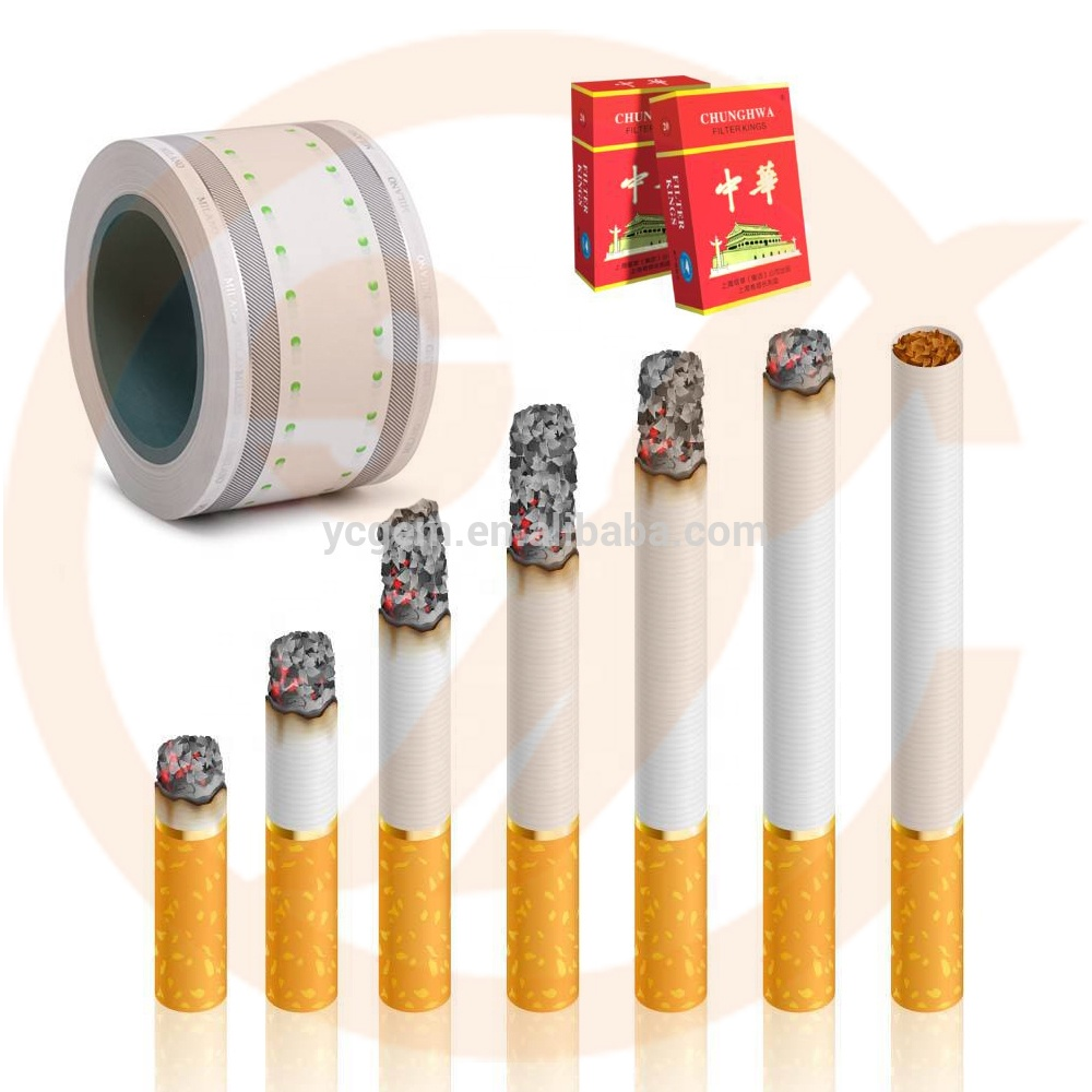 cigar filter hot foil stamp printing machine for cigar package