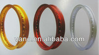 Motorcycle alloy/chrome wheel outer rims for sales
