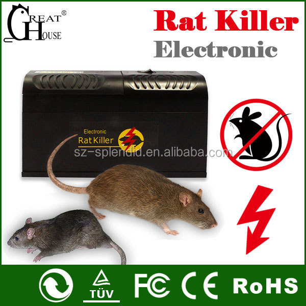 Greathouse hot sale Plastic Electronic Rodent Trap Electric Mouse Trap GH-190