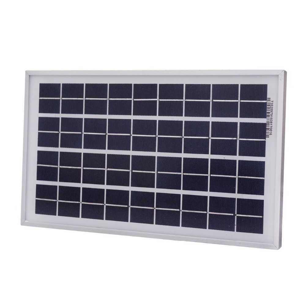 China manufactuer 10w 20w 30w 12V 18V PV Small Mono Solar Panel with frame