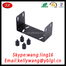 Custom Iron/Stainless Steel/Metal Bracket, U Shaped Brackets With Screws For Window&Door Hinge