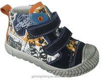 middle size shoes, casual fabric shoes,cheap kids shoes