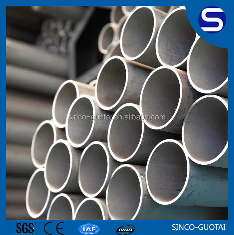 stainless 100mm diameter steel welded pipe for building industry