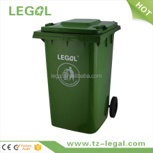 new household items formal colored plastic bin for recycle 360Liter with 2 wheels