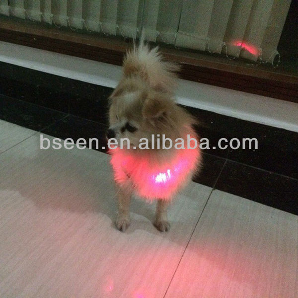 manufacturing dog clothing with led lights china