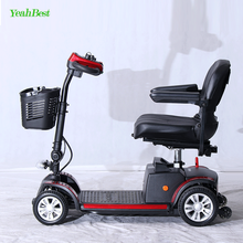 YeahBest New Type Comfortable 3 Wheel Electric Lithium Battery Folding Lightweight Mobility Scooter
