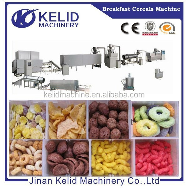 KLD High Efficient Best Selling Snacks Processing Line