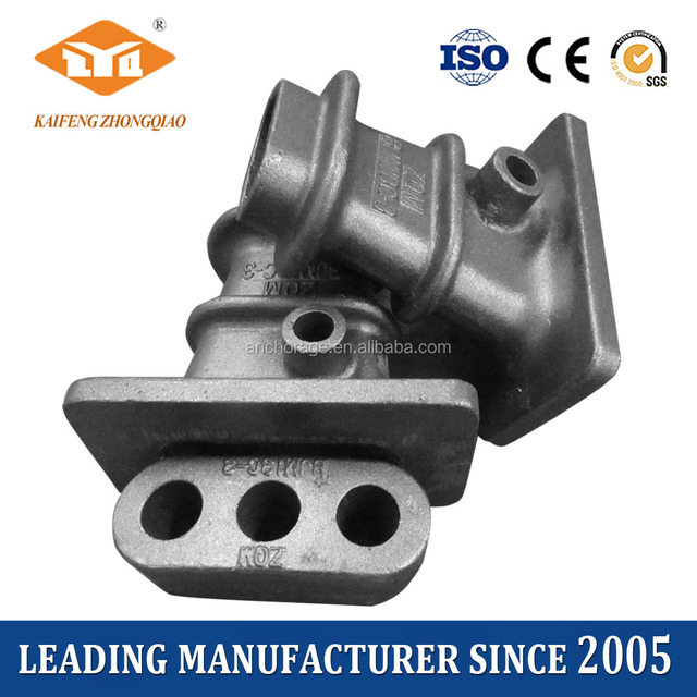 Prestressed Concrete Post-tensioning Flat Slab Anchorage Round Face Anchor