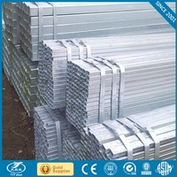 cold formed hollow section square tube zinc coating welded square steel pipe