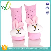 Wholesale Novelty 3d Animal Silicone And Gel Grip Rubber Bottom Latex Free slippers Sole Shoes Baby Childrens Kids Socks