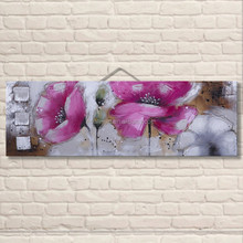 Bedroom decorating rose flower oil painting on canvas