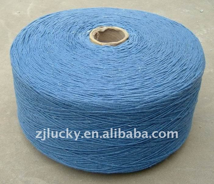hot sell yarn for mop recycled cotton yarn