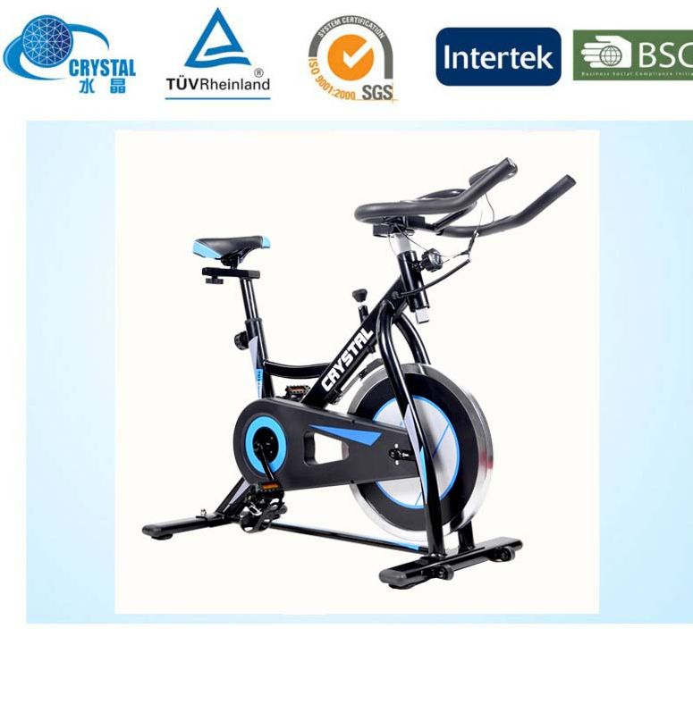 CRYSTAL SJ-33667 Super quiet Indoor gym fitness equipment exercise bike for bodybuilding