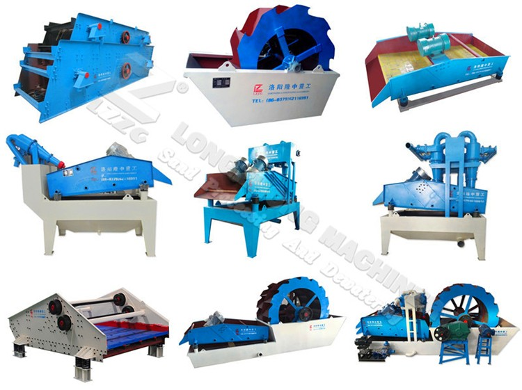 Sand extraction machine with hydro cyclone desander in Indonesia