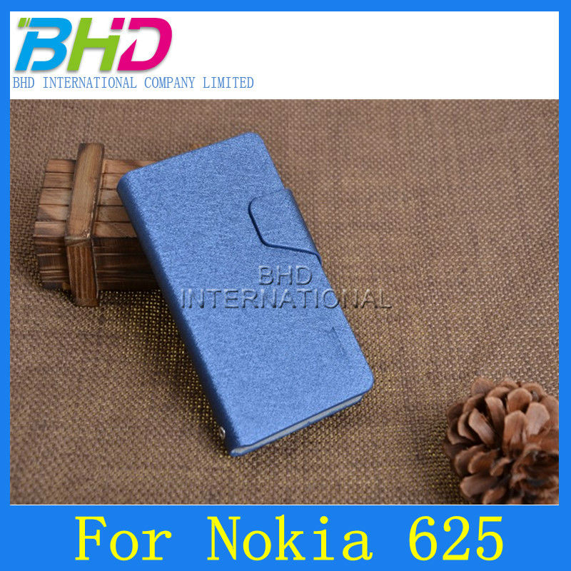 for nokia lumia 625 flip leather case