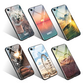 New Cell Phone Magnetic Case For iPhone X 8 7 6s 6 Plus Case Ultra Slim Metal Frame Tempered Glass Cover Magnetic Phone Case