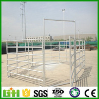 heavy duty hot dipped galvanized horse panels /metal livestock field farm fence gate for cattle or horse