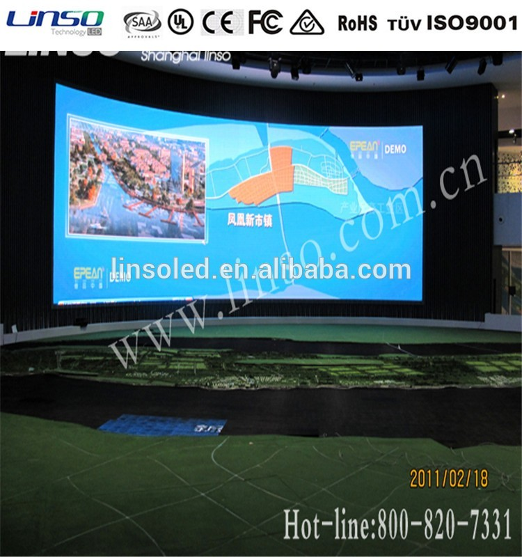 Factory directly sell p4 advertising led display for certificates