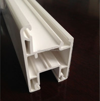 white extrusion pvc profile for windows and doors