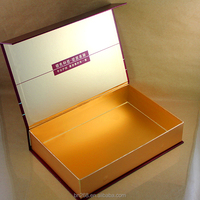 Magnetic closure luxury design gift box packaging custom printed