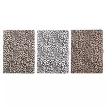 BSCI factory! Folding PU leather cases for iPad Pro 12.9 with leopard pattern