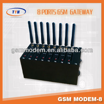8 Ports gsm modem pool for send bulk sms compatible Kannel software/gsm modem with serial usb
