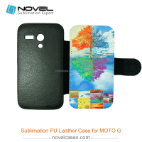flip cover for sublimation phone cover for motorola G