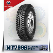 NEOTERRA BRAND FOR NORTH AMERICA MARKET WINTER TRUCK TIRES 11R22.5