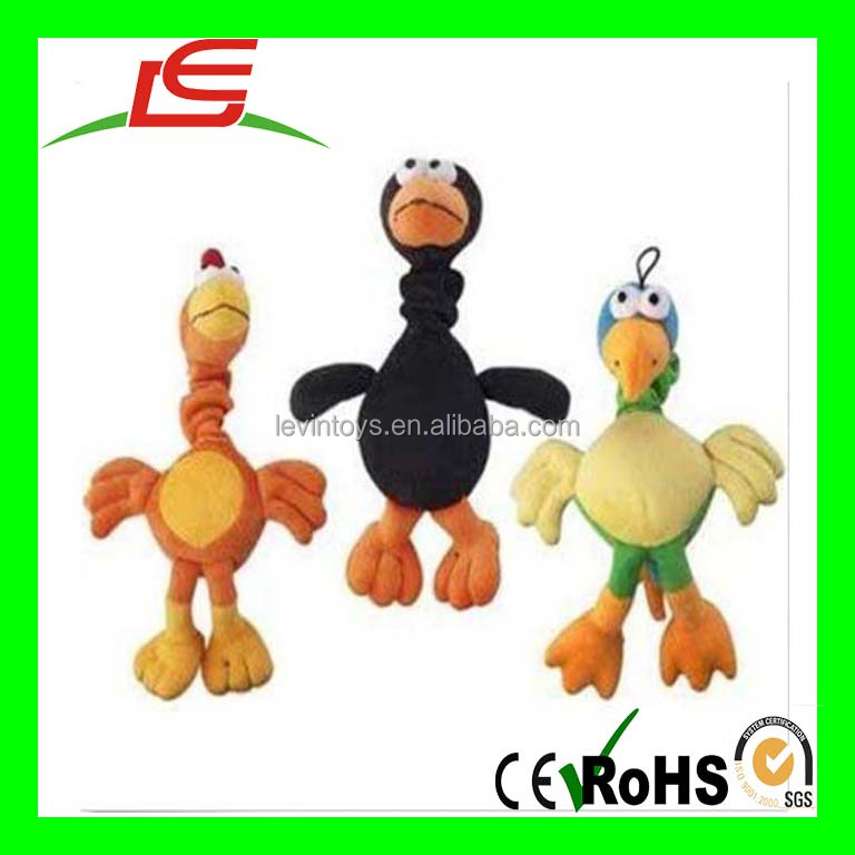 D503 Ethical Plush Chirpies Assorted Birds 14-Inch Dog Toy