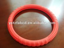 2012 Latest-style& anti-skidding silicone steering car wheel cover