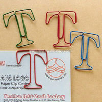 shaped colorful angle clip paper clip low price
