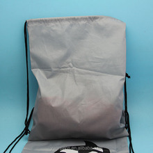 wholesale shoe packaging ski shoe bag with drawstring