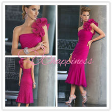 mother of the groom dresses mother of bride dresses chiffon tea length one shoulder