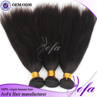 Top quality wholesale brazilian virgin yaki straight human hair extension