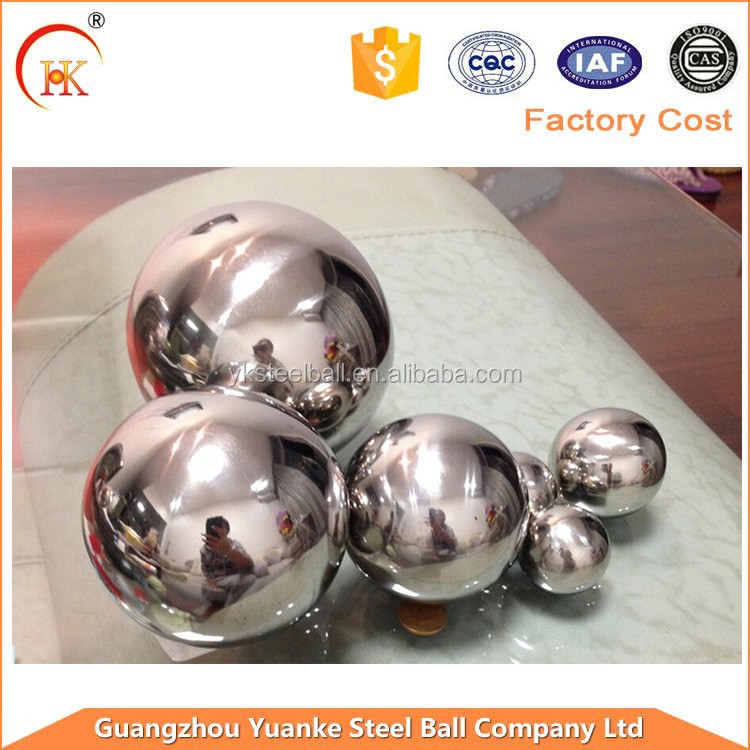 50.8mm 201 stainless steel hollow float decorative ball/beads/sphere