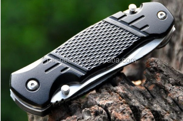 CS Survival Outdoor Camping tool milti function life knife folding hunting pocket knife