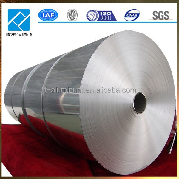 Big Roll Raw Material Aluminum Foil for Barbecue Tray
