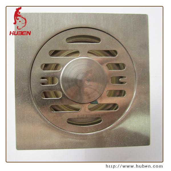 10cm x 10cm stainless steel basement floor drain covers for 10 floor drain cover