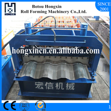 Hongxin Electrical Motor Switch Container Board Galvanized Plate Roll Forming Machine