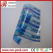 Custom Die Cut Offset printing PP PVC PET PC plastic sheet