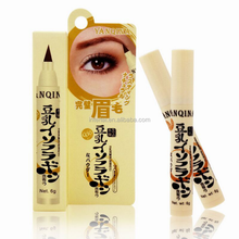 Wholesale YANQINA Soymilk Double Head Waterproof Liquid eyebrow pencil