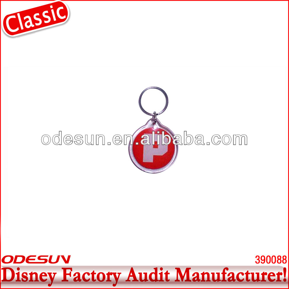 Disney factory audit manufacturer's car keychain 142093