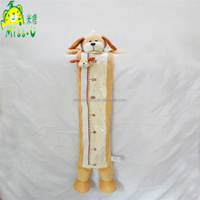 Wholesale High Quality Baby Growth Height Charts Dog Animal Plush Height Charts