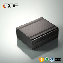 88*38*100mm (W*H-D) slim aluminium brushed box for pcb or led