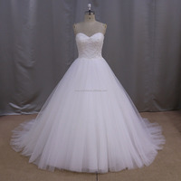 LNZ002 french chantilly lace wedding dress quinceanera decorations wedding dress for women